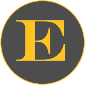 Coloured letter E representing Golf Events