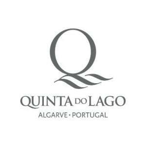 Quinta do Lago Logo on white background