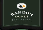 Bandon Dunes Resort logo on green background