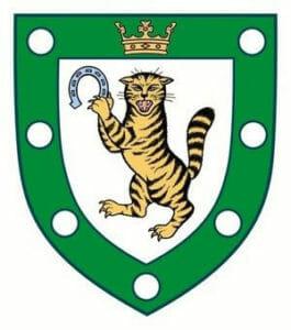 Green and White Royal Dornoch Logo