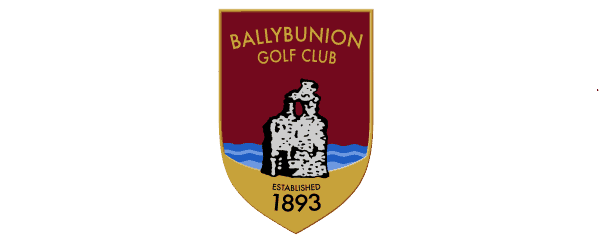 Red Ballybunion emblem shield