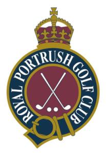 Royal Portrush Golf Club Emblem