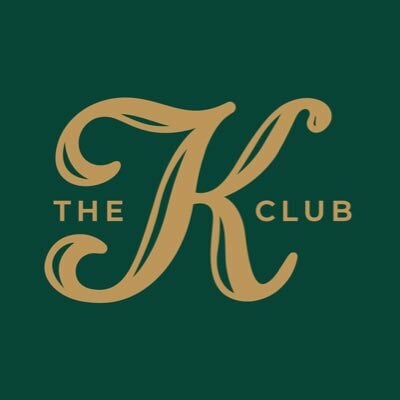 Gold The K Club emblem on green background