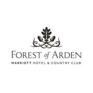 Black Marriott Forest of Arden logo