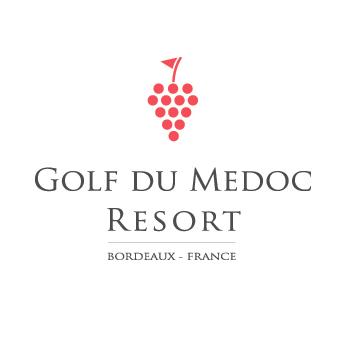 Golf du Medoc Resort Logo on white background