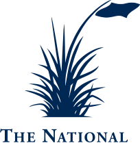 Blue National Golf Club emblem