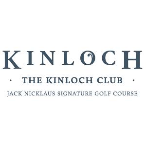 Blue Kinloch Club logo on white background