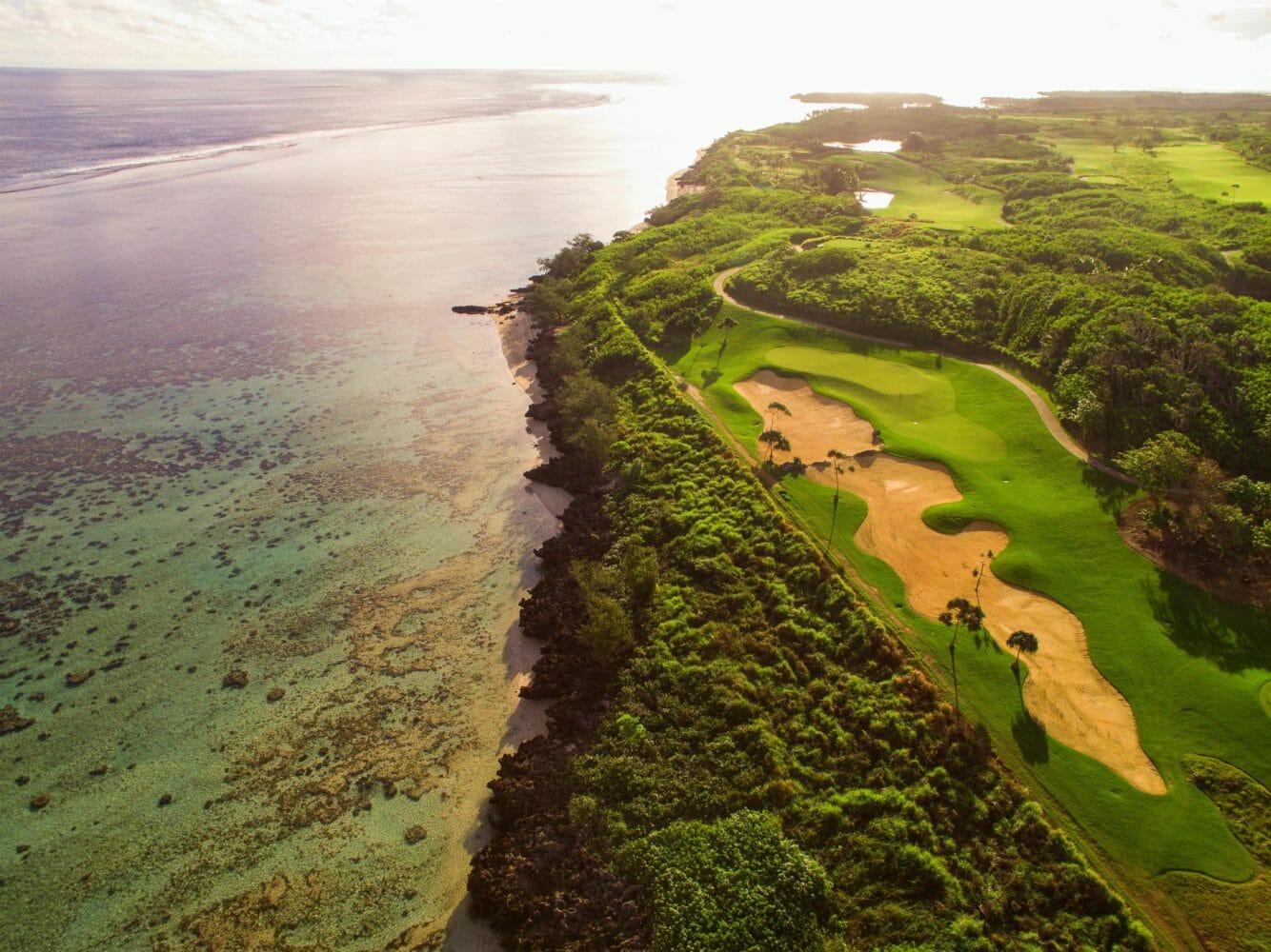 Golf course adjacent to Natadola Bay golf course