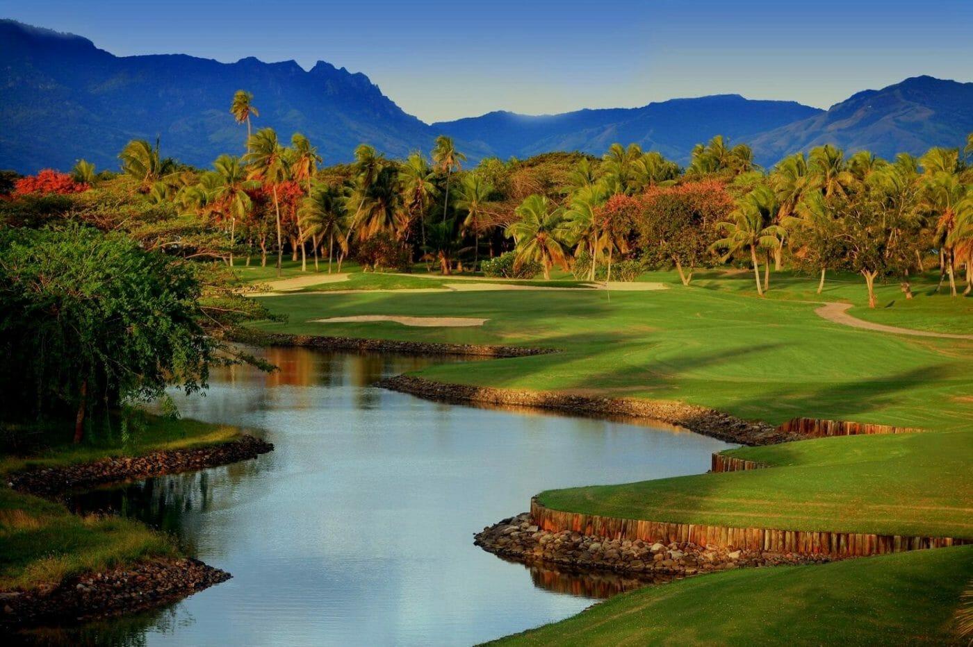 Denarau golf course landscape