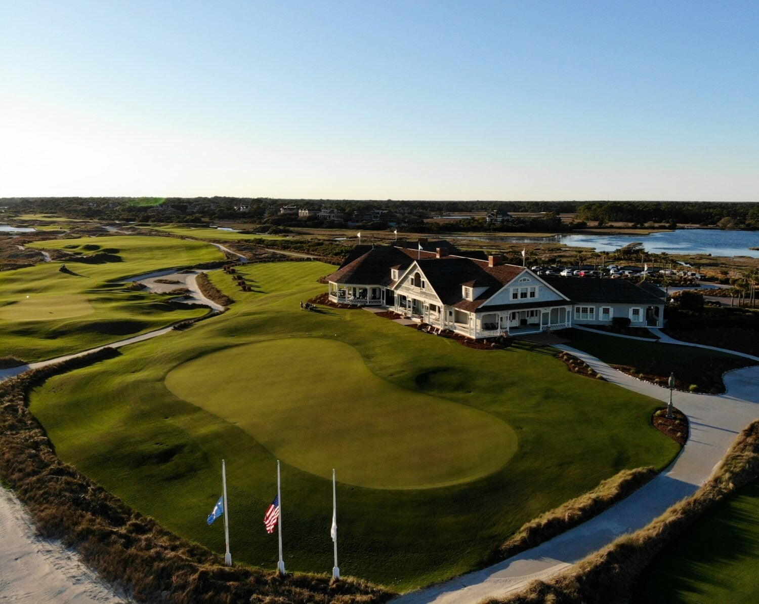 The Ocean Course Clubhouse at Kiawah Island Resort