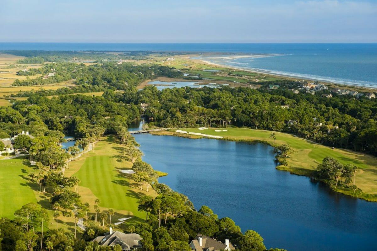 Osprey Point golf course at Kiawah Island