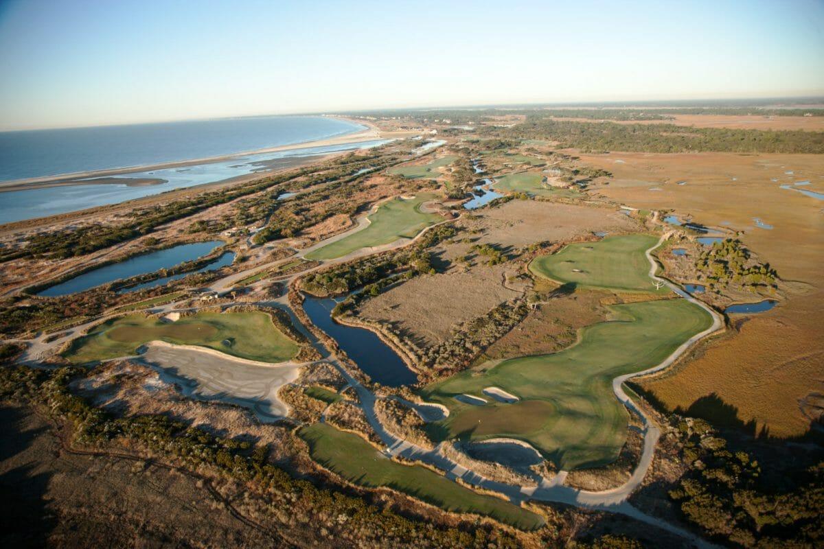 Kiawah Island Ocean Course aerial