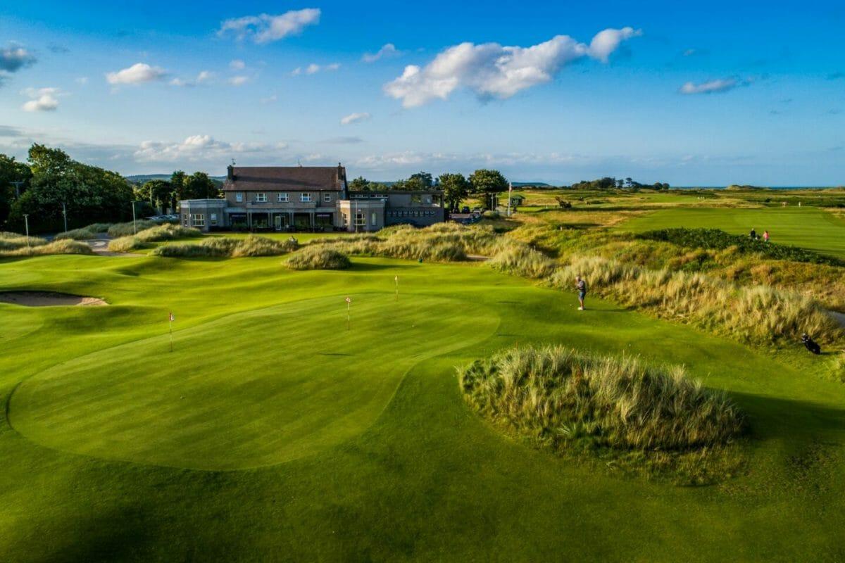County Louth golf club in Ireland