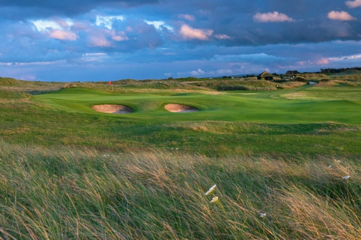 County Louth golf club second green