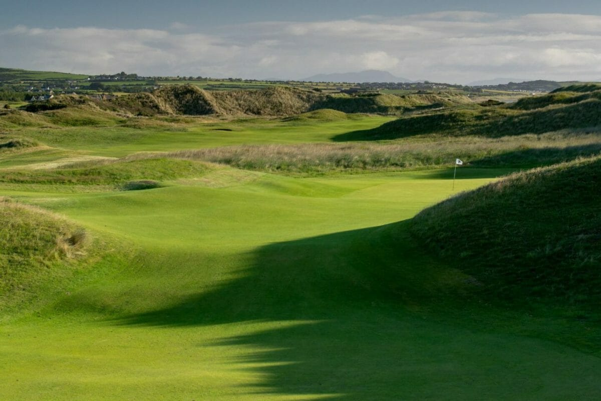 County Louth golf course twelfth green