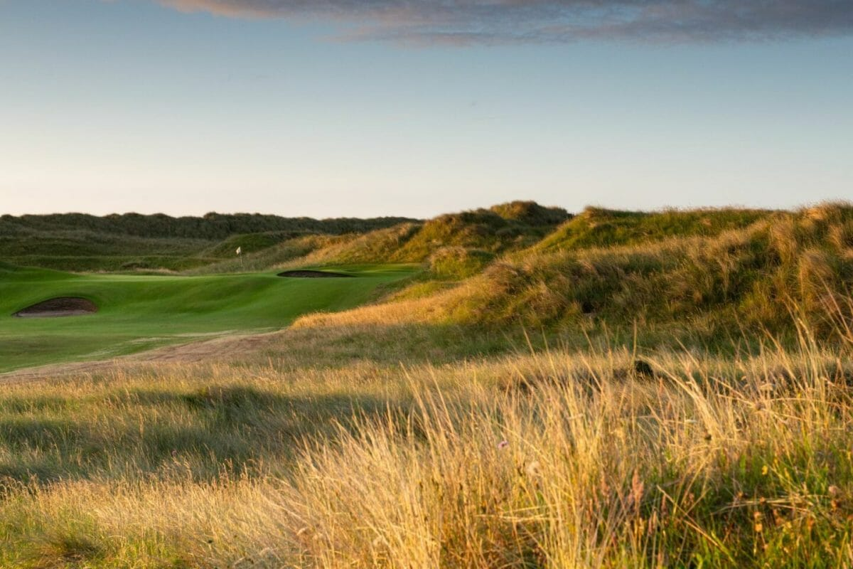 County Louth Golf Course fifteenth green