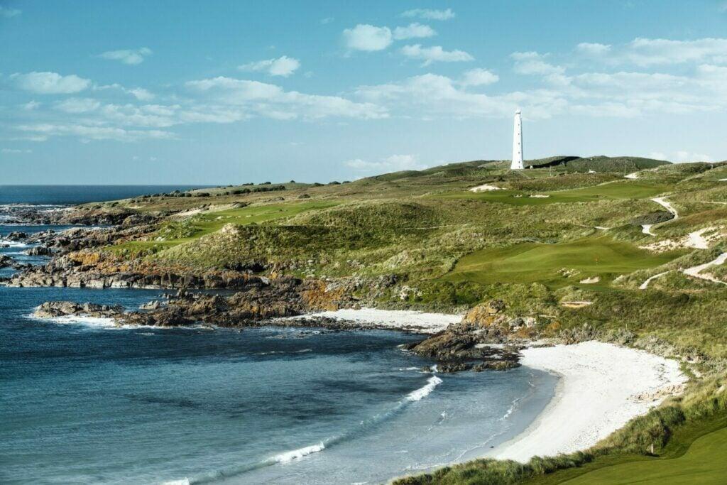 Cape Wickham lighthouse
