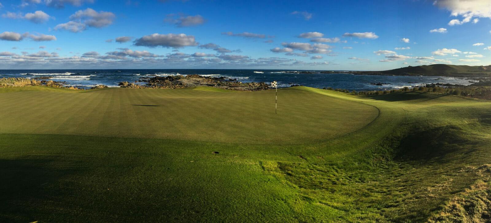 Ocean Dunes golf course and Great Australian Ocean