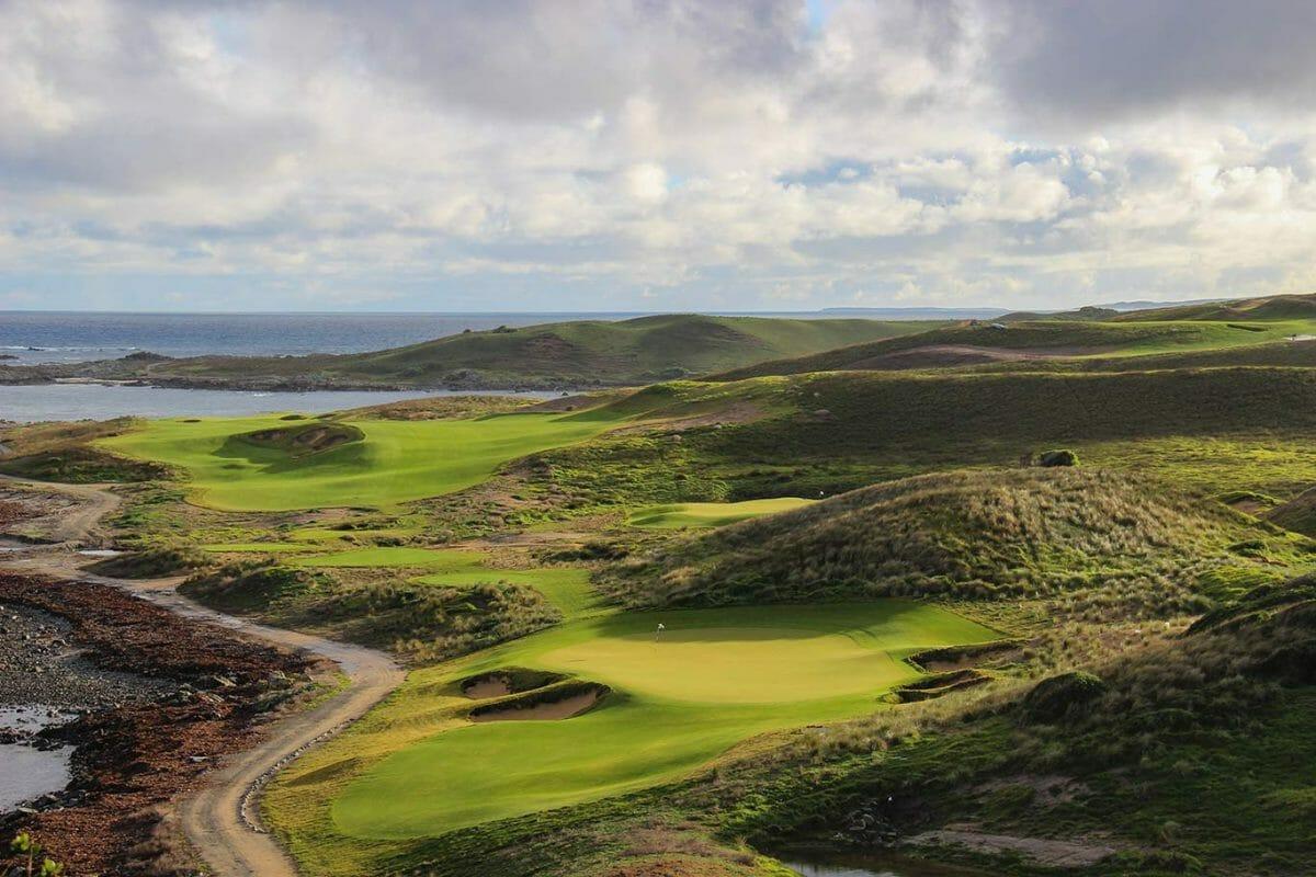 Ocean Dunes golf course in Tasmania