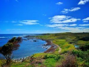 Ocean Dunes golf course sunny day