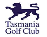 Tasmania Golf Club emblem