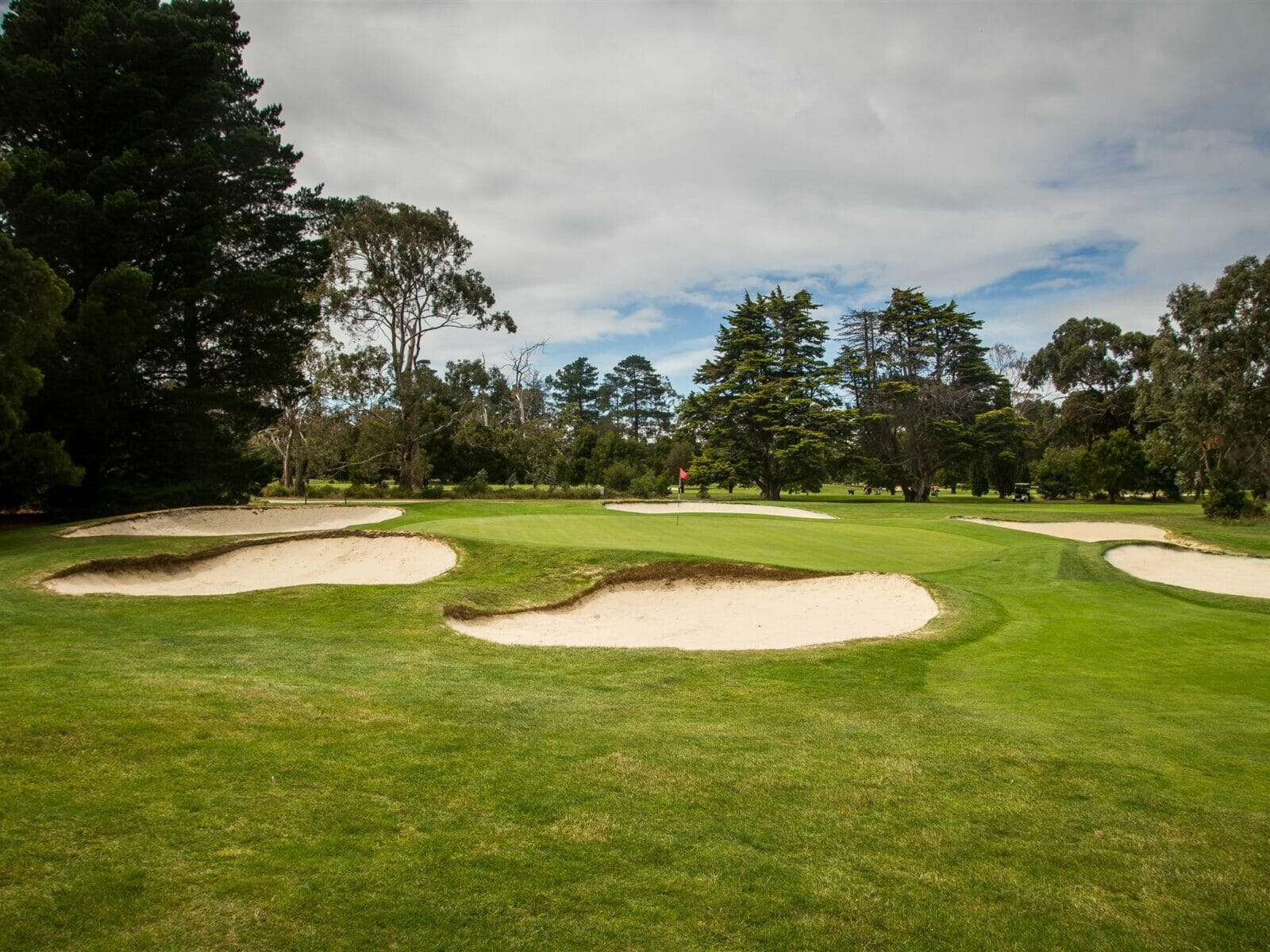 Royal Hobart Golf Course green