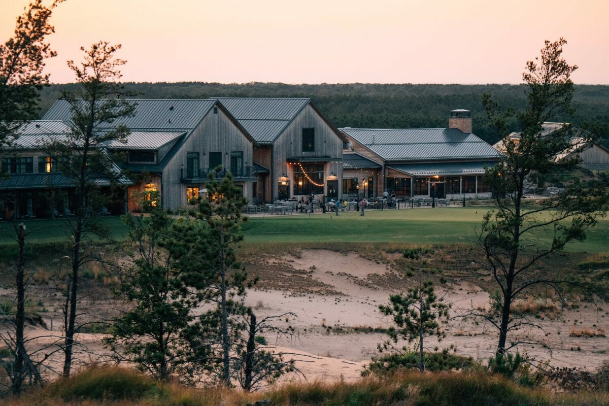 Sand Valley Clubhouse in Wisconsin