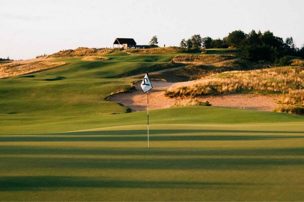 Sand Valley first green