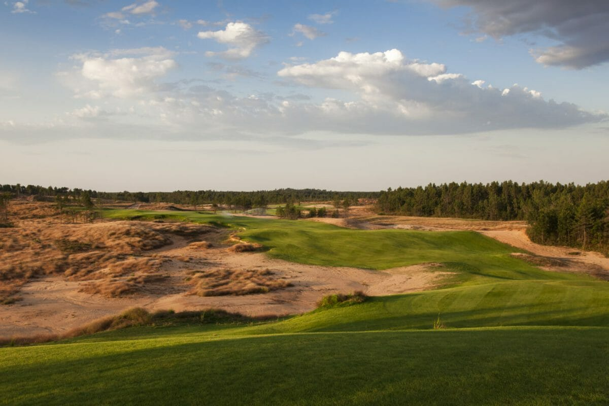 Sand Valley links golf course