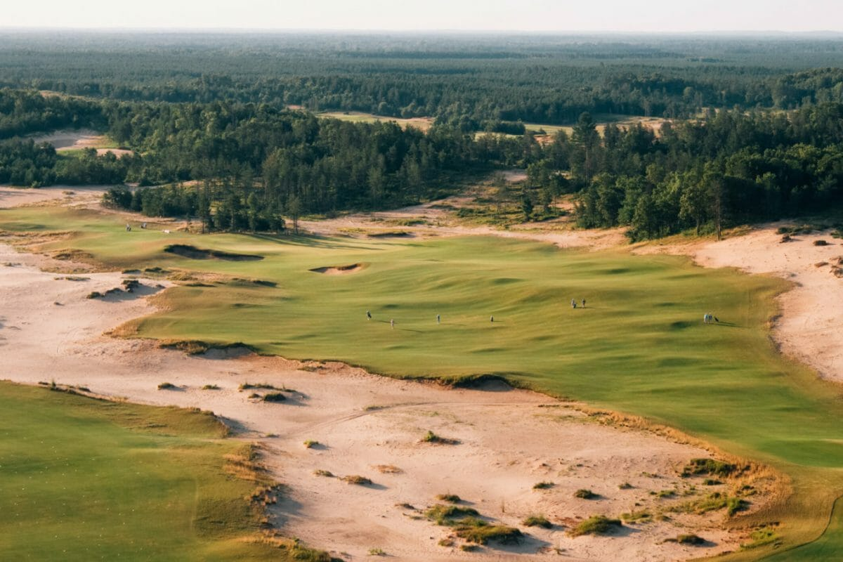Sand Valley aerial view