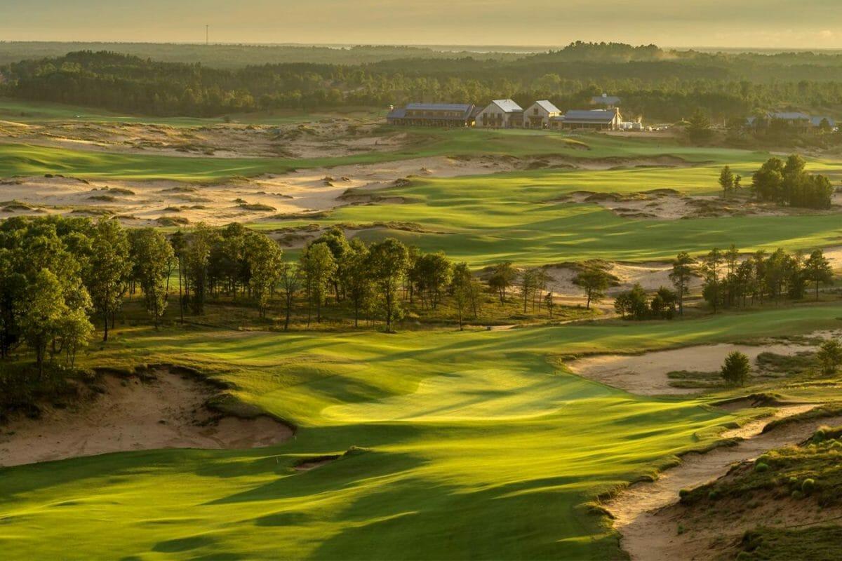 Sand Valley golf complex