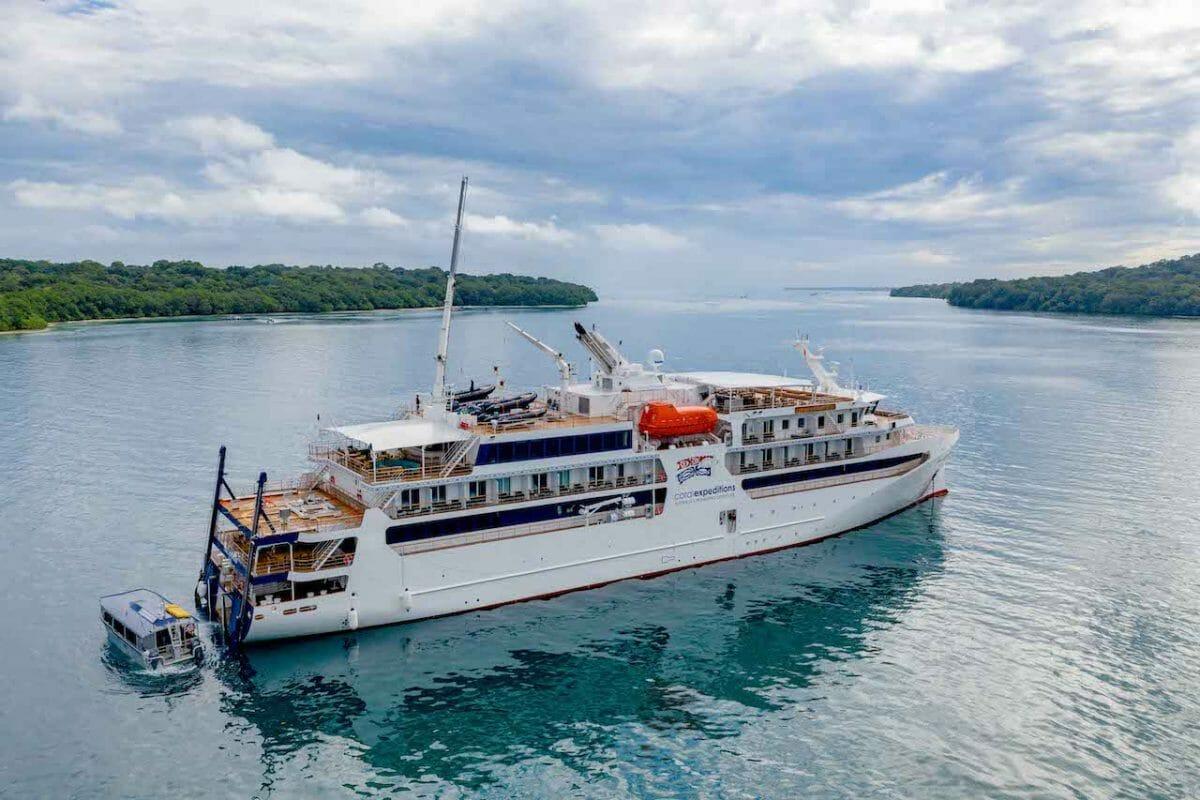 Coral Adventurer cruise ship