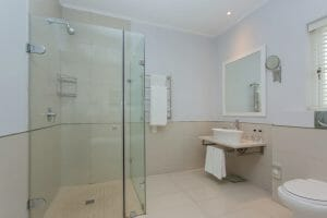 Two bedroom-suite bathroom at Fancourt Resort, The Garden Route, South Africa