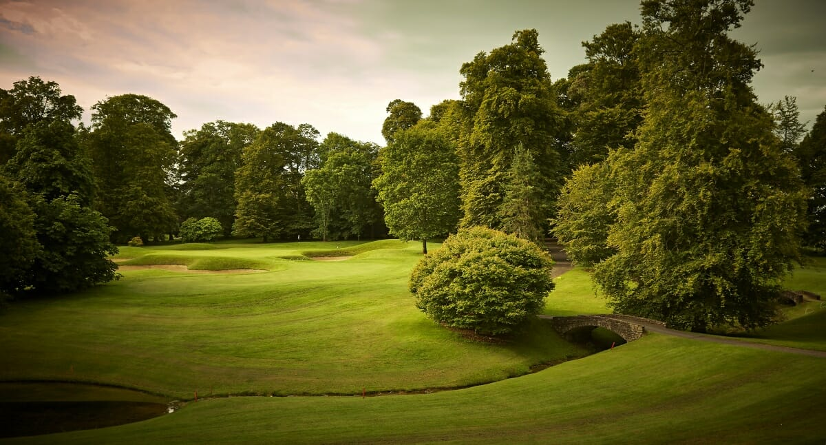 Overlooking the parkland course, Mount Juliet Estate, Kilkenny, Ireland