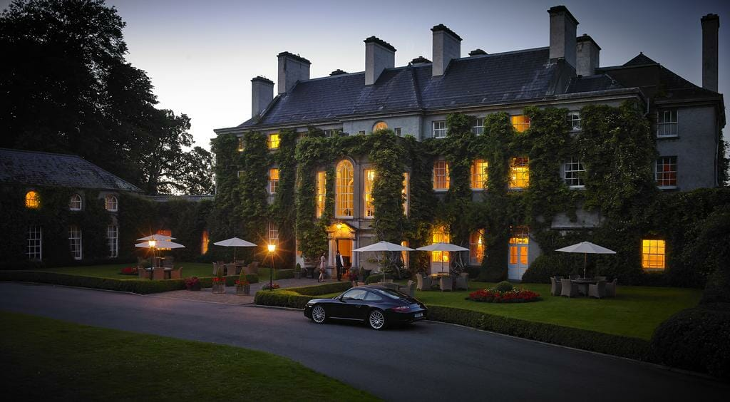 Overlooking the main building at dusk, Mount Juliet Estate, Kilkenny, Ireland