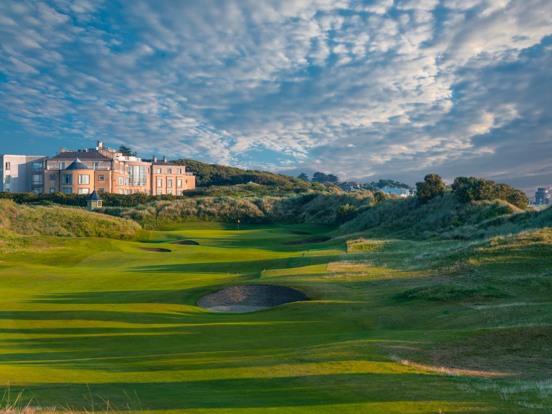 View of the Portmarnock Resort from the golf course