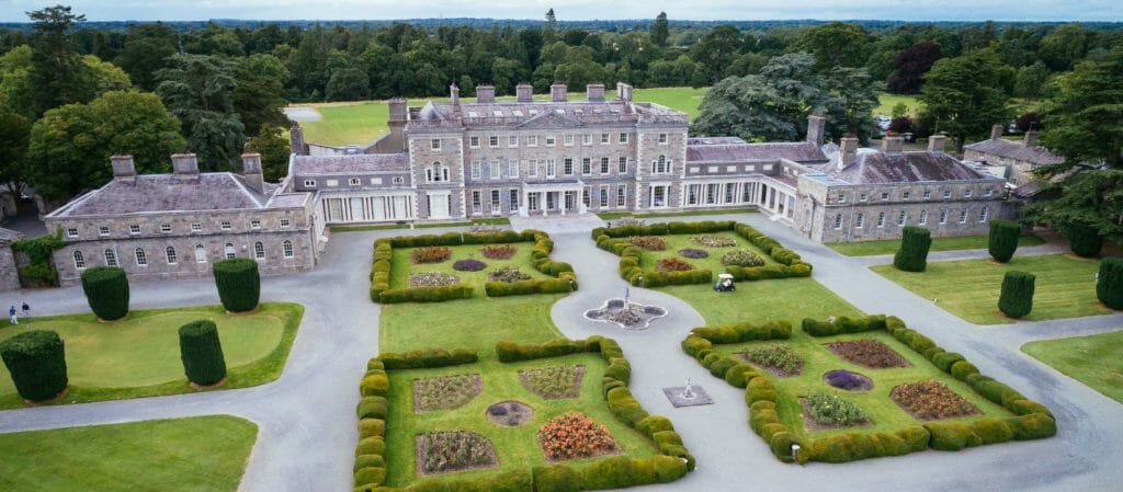 Carton House, Ireland, has beautiful old architecture