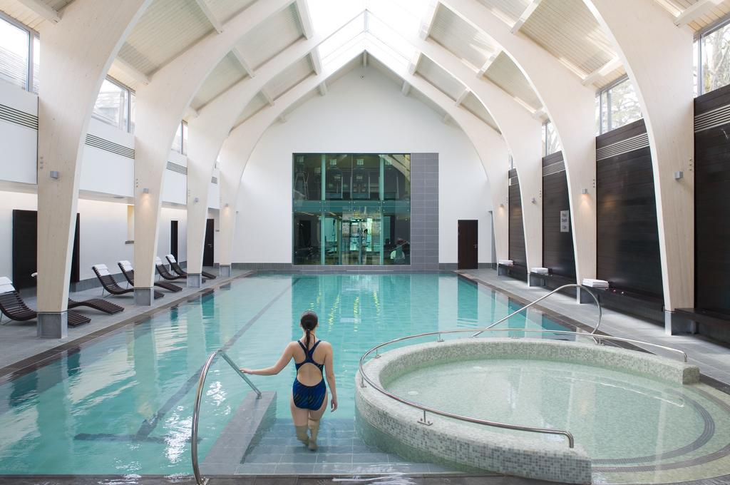 The indoor pool is available year-round at Carton House, Ireland