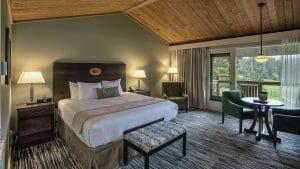 Image of a raditional King Room, Salishan Resort, Oregon, USA