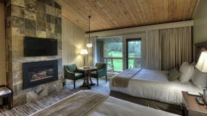 Image of a Traditional Twin Room at Salishan Resort, Oregon, USA
