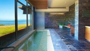Image depicting a private pool at Salishan Resort, Oregon, USA