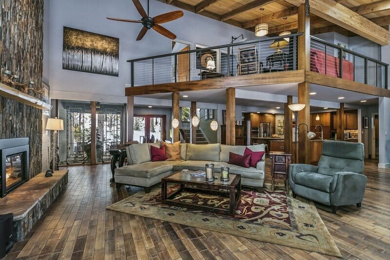 Image depicting the inside of a rental property at Black Butte Ranch, Oregon, USA