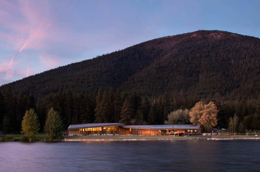 Image of the Ranch under the famous Black Butte