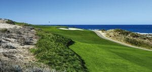 Image of Spyglass Hill Golf Course parallel to The Pacific Ocean
