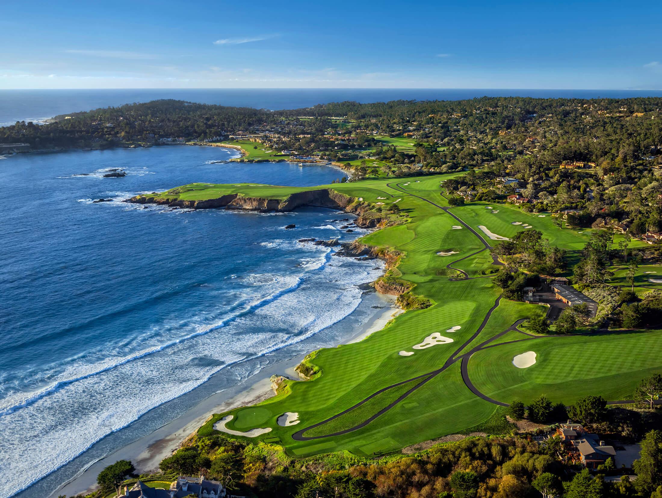 Pebble Beach Golf Links - California, USA - Voyages.golf