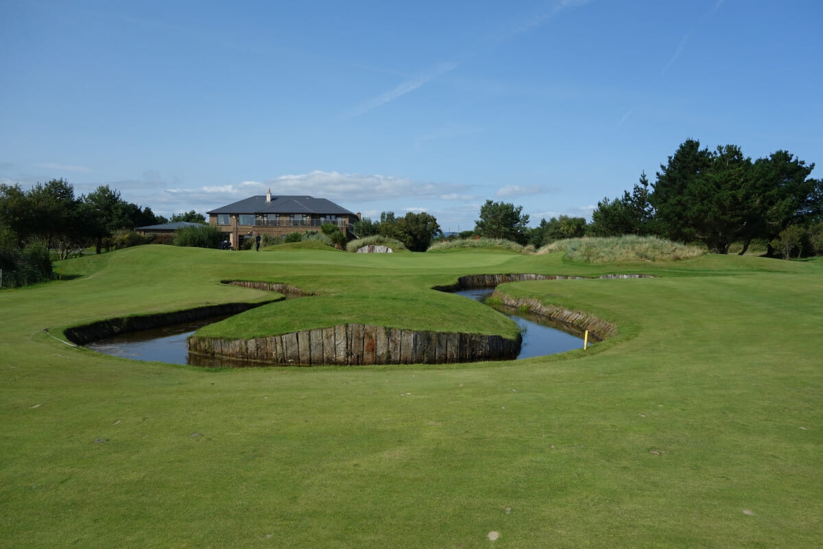 Image depicting the clubhouse at The European Golf Club, Ireland