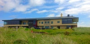 Image displaying the exterior of the clubhouse at Portstewart Golf Club, Northern Ireland