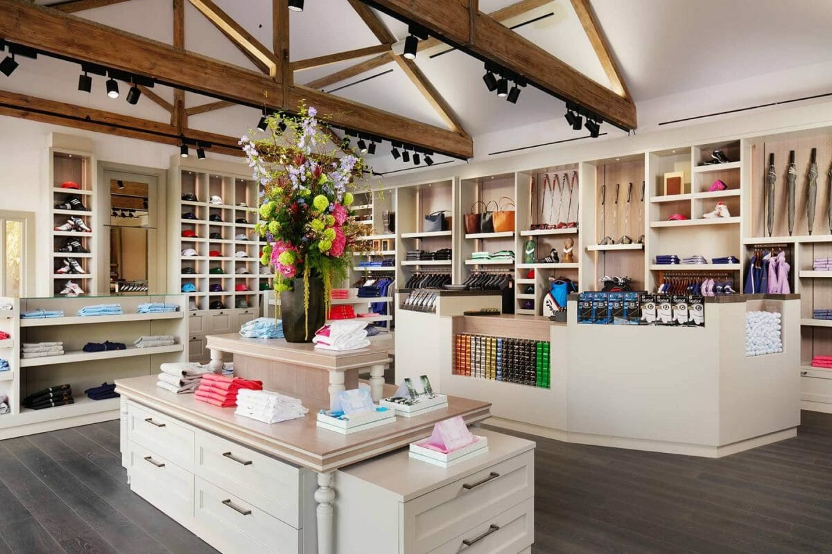 Image displaying the interior of the golf shop at Adare Manor, County Limerick, Ireland, Europe