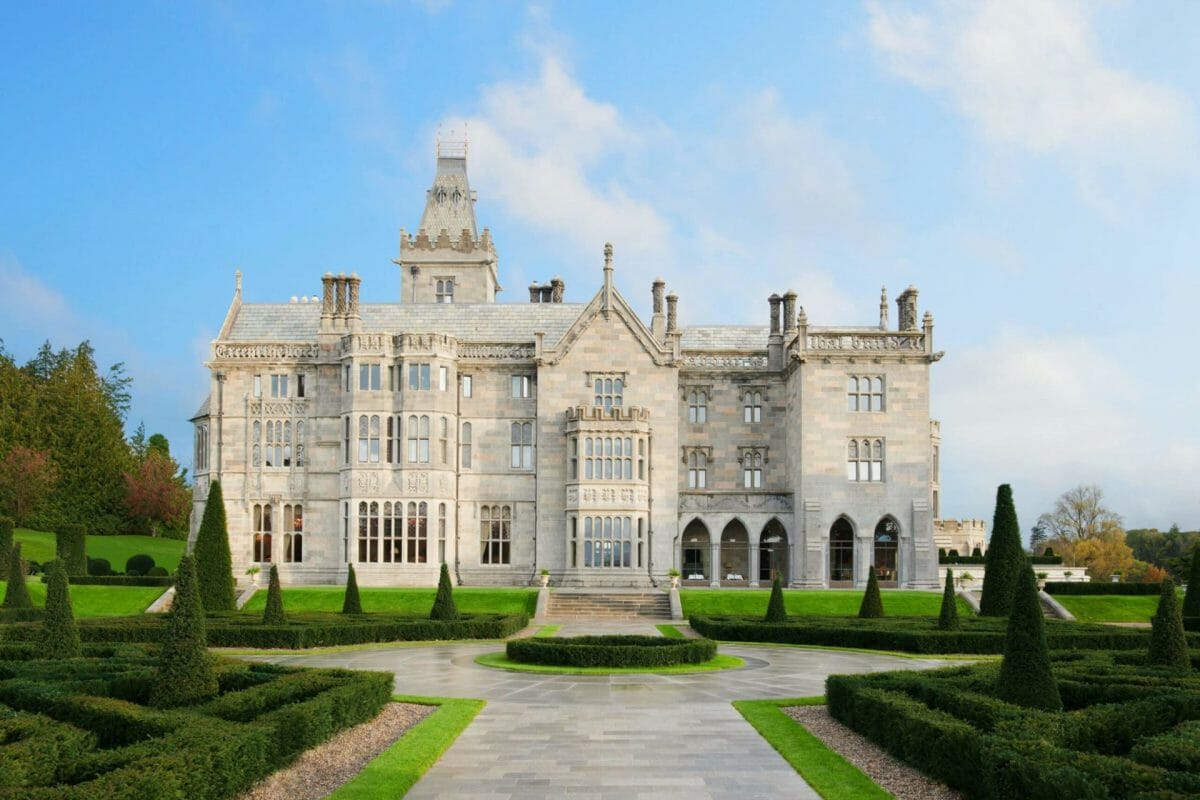 Image of the external resort building a Adare Manor, County Limerick, Ireland, Europe