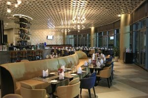 Image displaying the inside of the clubhouse restaurant at Ba Na Hills Golf Club, Da Nang, Vietnam